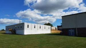Modular Building added in 2019